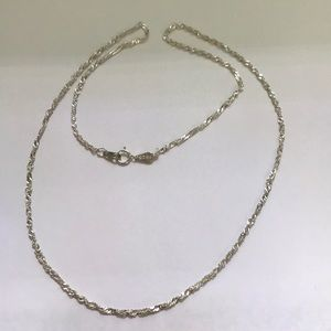 Jewelry - Sterling silver rope chain